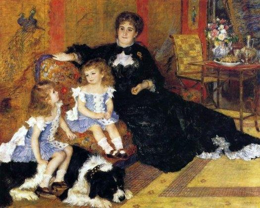 Madame Charpentier si copiii  (Pierre- Auguste Renoir1878)